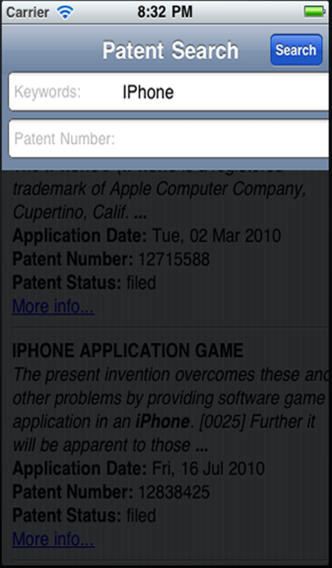 patent searcher
